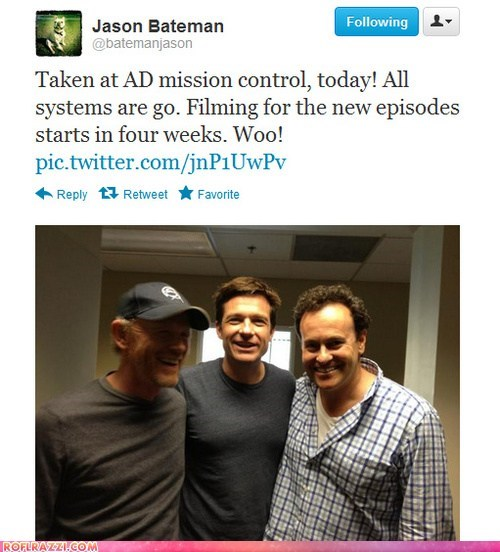 "New ""Arrested Development"" Episodes Filming!"