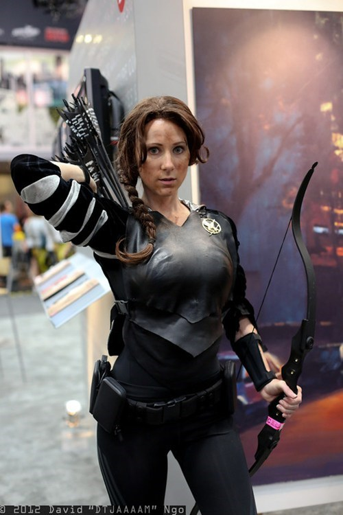 cosplay,katniss,SDCC,hunger games