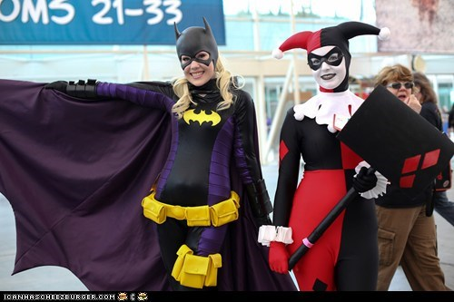 Fantastic Batgirl and Harley Quinn