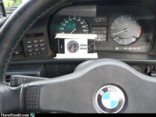 broken speedometer,speedometer