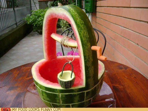 Dip Into the Melon Well