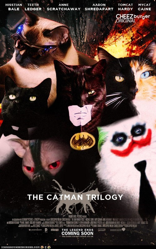 I Can Has Cheezburger?: Christopurr LOLan's Catman Trilogy