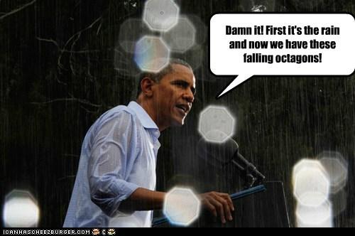barack obama,democrats,geometry,political pictures,polygons,rain
