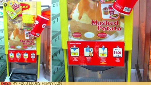 7-11,automated,gravy,machine,mashed potatoes