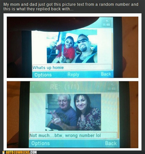 parents,picture message,random number,wrong numbers