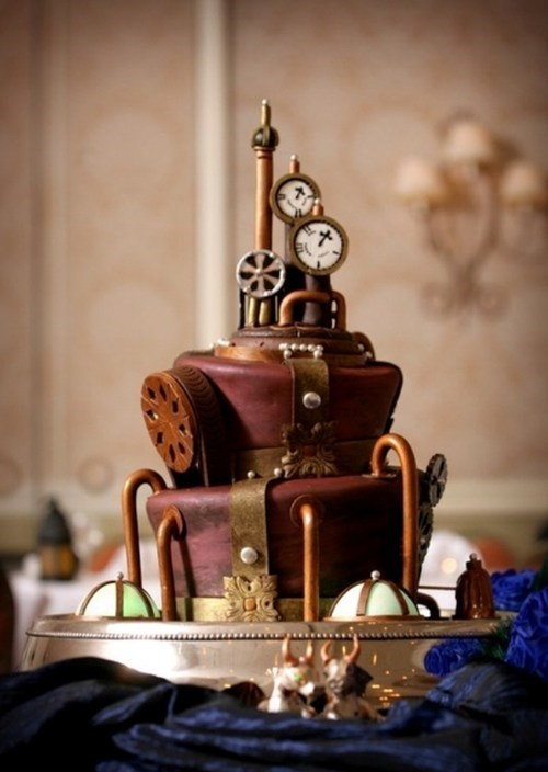 Steampunk Cake of the Day