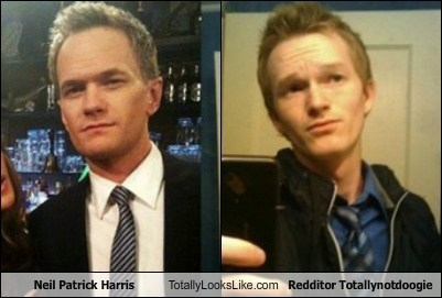 Neil Patrick Harris Totally Looks Like Redditor Totallynotdoogie