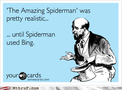 Sorry Spidey, But I'm Not B(uy)ing It...