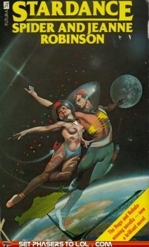 WTF Sci-Fi Book Covers: Stardance