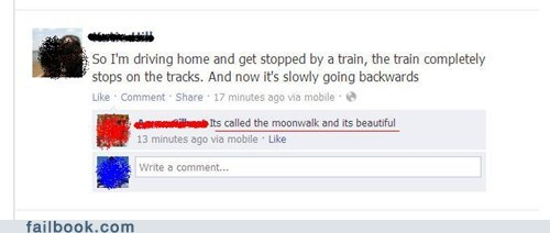 michael jackson,moonwalk,train