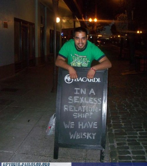 bacardi,sexless relationship,whiskey