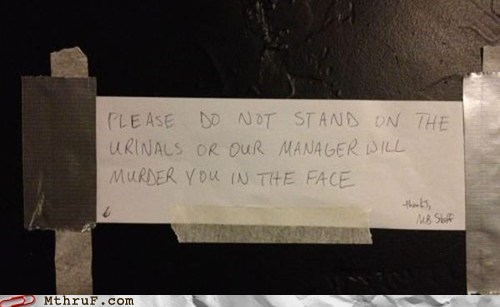 manager,murder you in the face