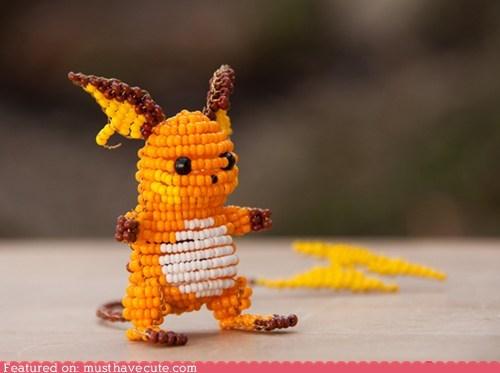 art,beads,Pokémon,sculpture,wire