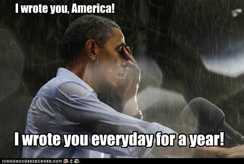 america,barack obama,political pictures,rain