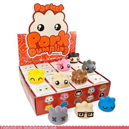collectible,pork dumplings,toys,vinyl