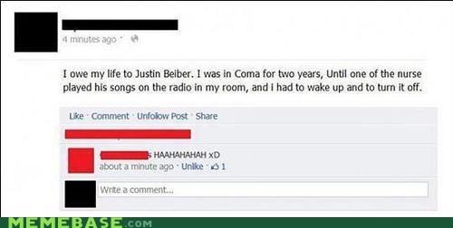 best of week,Bieber,coma,facebook,inspirational,Music,weird kid