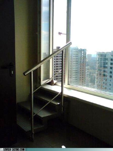 hopeless,stairs,window