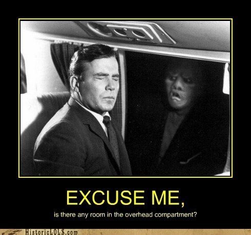 monster,Movie,plane,twilight zone,William Shatner