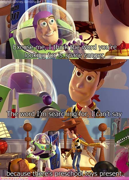 You Got Lucky This Time, Buzz...