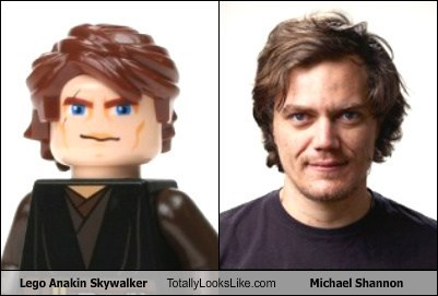 Lego Anakin Skywalker Totally Looks Like Michael Shannon