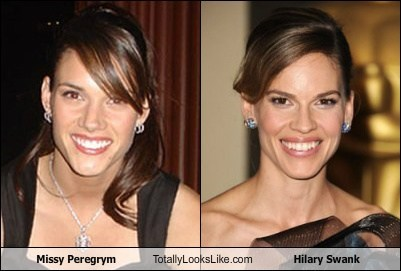 Missy Peregrym Totally Looks Like Hilary Swank