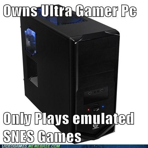 emulator,PC,roms,snes