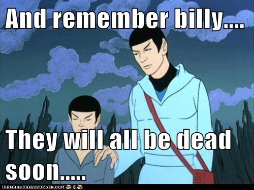 animated series,comfort,dead,kid,Spock,Star Trek,Vulcans