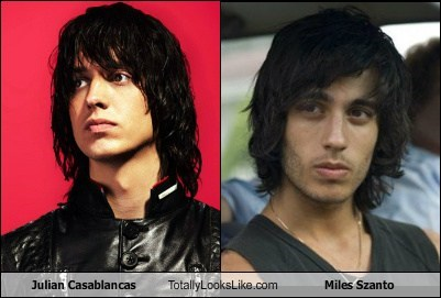 Julian Casablancas Totally Looks Like Miles Szanto