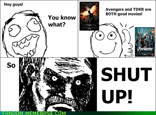 all that racket,batman,Rage Comics,summer blockbusters,The Avengers