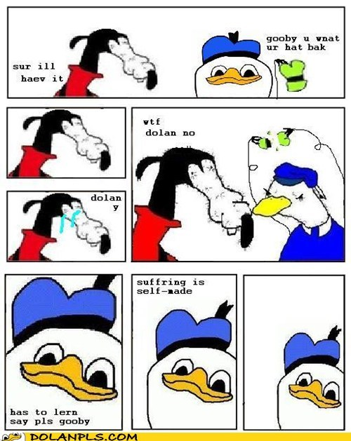 Dolan is accually teh buddha