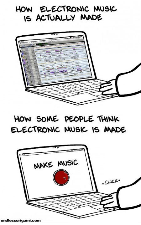 And It Is Real Music, So Deal With It