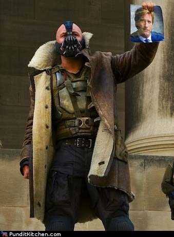 bane,batman,political pictures,Rush Limbaugh,the dark knight rises