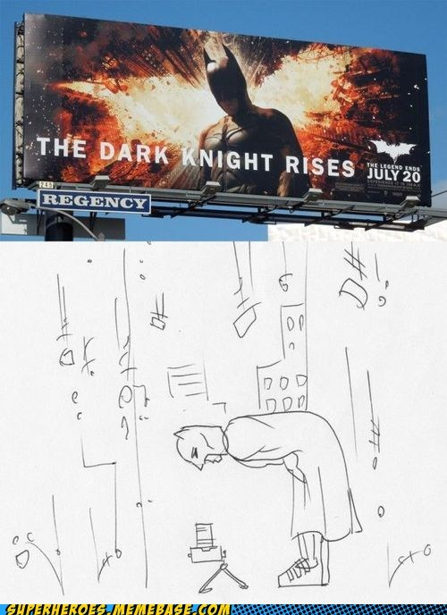 Superheroes: The Dark Knight Poses