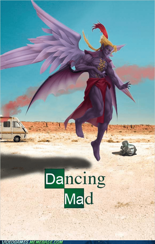breaking bad,crossover,dancing mad,final fantasy,kefka,song