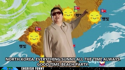 Glorious Korean People's Nation Has Sunniest Sun!