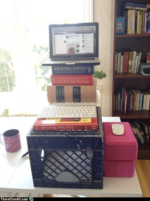 The DIY Standing Desk