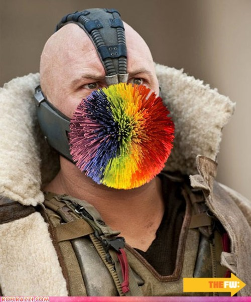 "Ten Masks You Won't See Bane Sporting in ""The Dark Knight Rises"""