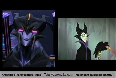 arachnid,disney,funny,Maleficent,Sleeping Beauty,TLL,transformers prime