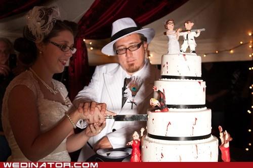 Zombie Attack Cake