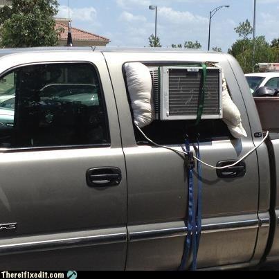 air conditioning,redneck,truck