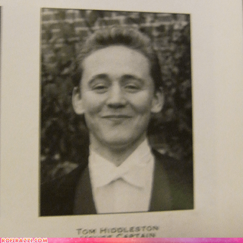Tom Hiddleston's Yearbook Photo