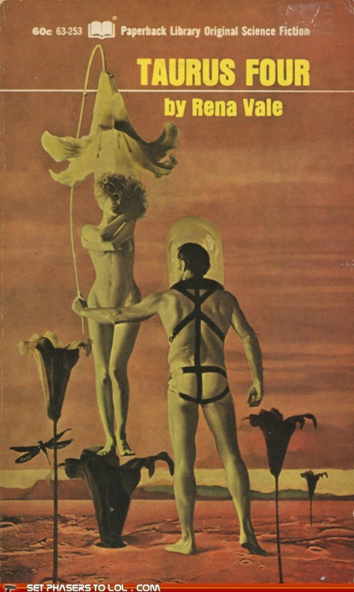 WTF Sci-Fi Book Covers: Taurus Four