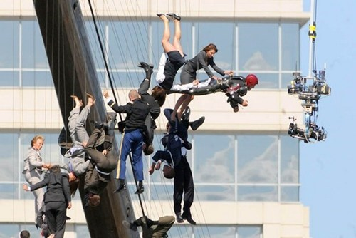 Iron Man 3 Set Photos of the Day