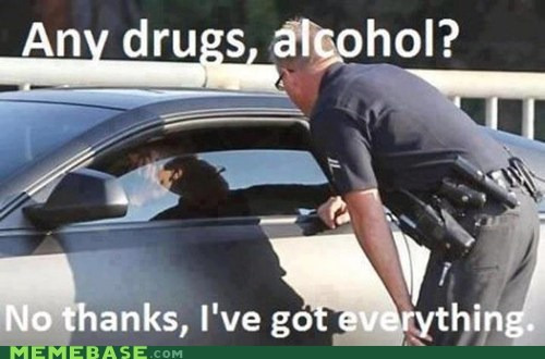 driving,drugs,no thanks,officer