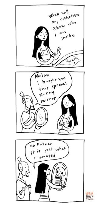 Literal Mulan is a Little Bit Terrifying