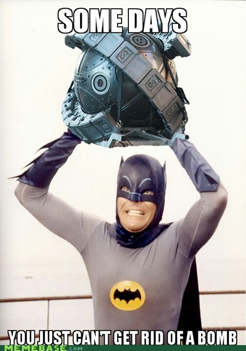 """Holy Neutron Batman"""