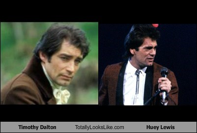 Timothy Dalton Totally Looks Like Huey Lewis