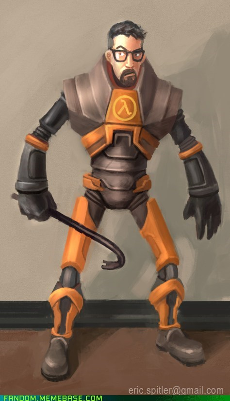 Gordon Freeman TF2 style
