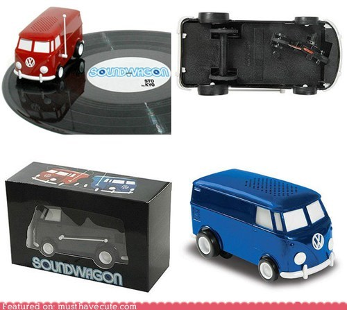 VW Van Record Player