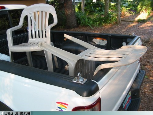 bed,chair,chairturday,fall,ride,sick,truck